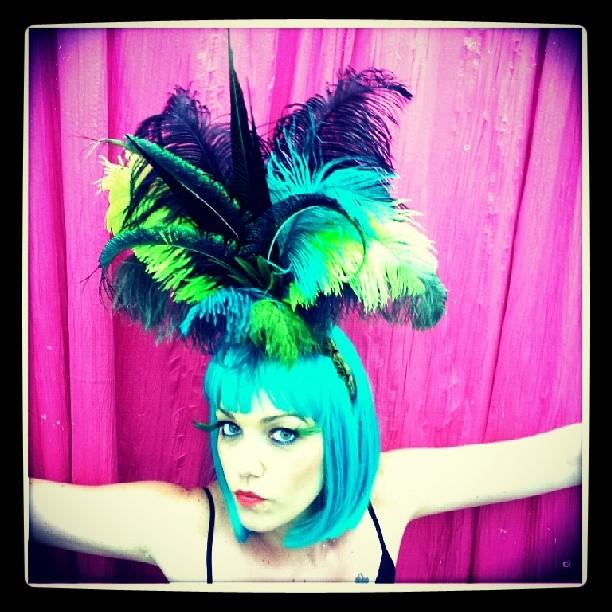 St Patrick's Showgirl Divalicious Headdress
