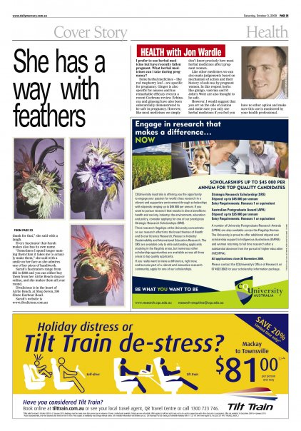 The Daily Mercury Weekend October 2009