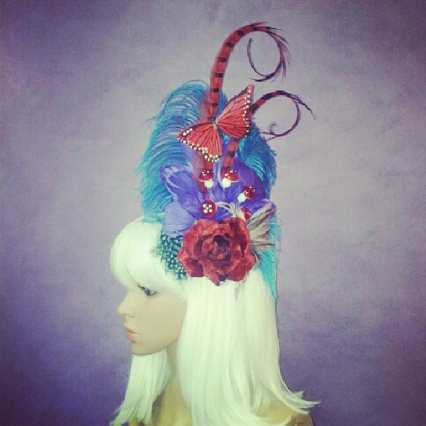 Alice in Wonderland Divalicious Fascinator