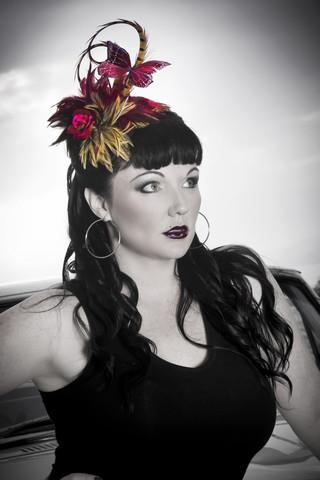 Bella Rouge Divalicious Fascinator