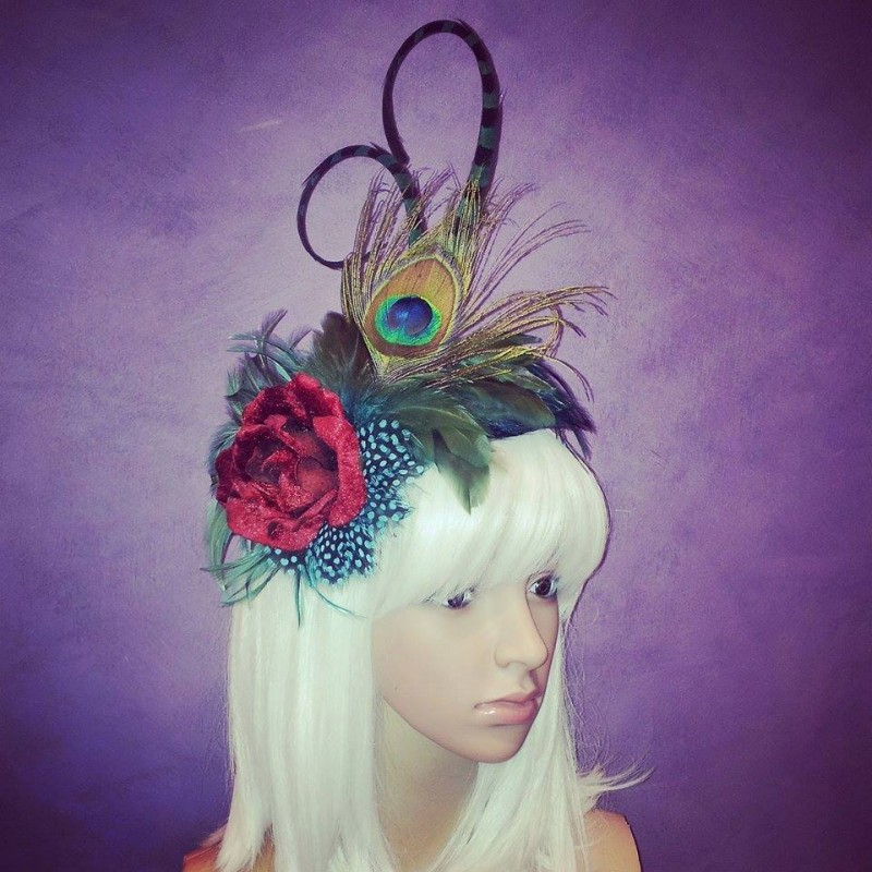 Camilles Rose Divalicious Fascinator