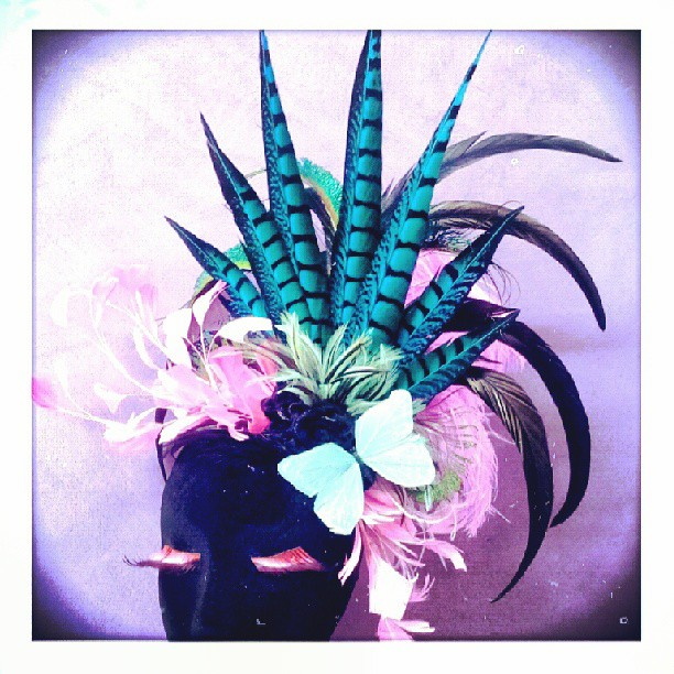 Candy Bombshell Divalicious Fascinator