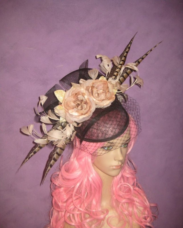 Champagne and Caviar Divalicious Fascinator