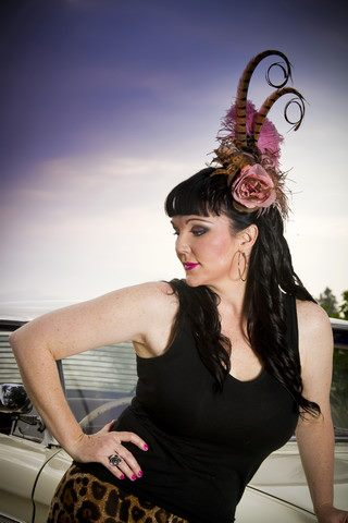 Chanel Allure Divalicious Fascinator