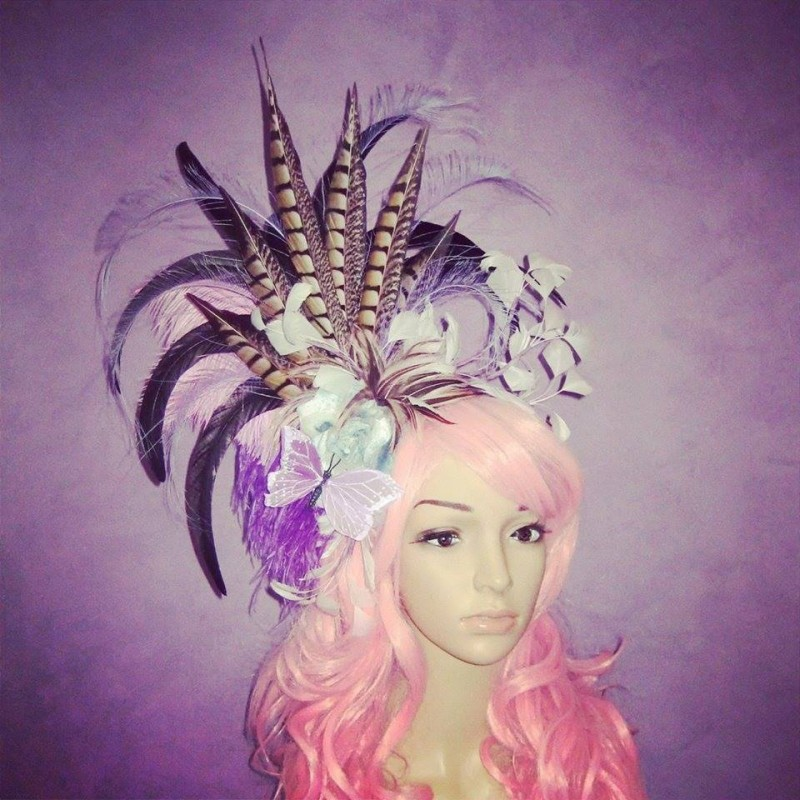 Fae of the Blue Moon Dawn Divalicious Fascinator