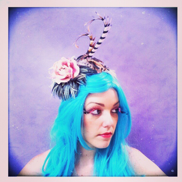 Fairy Rose Dust Divalicious Fascinator