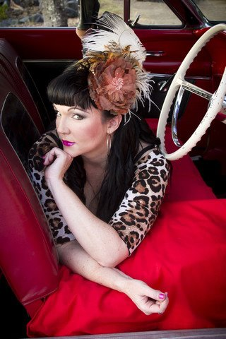 Georgette deVil Divalicious Fascinator