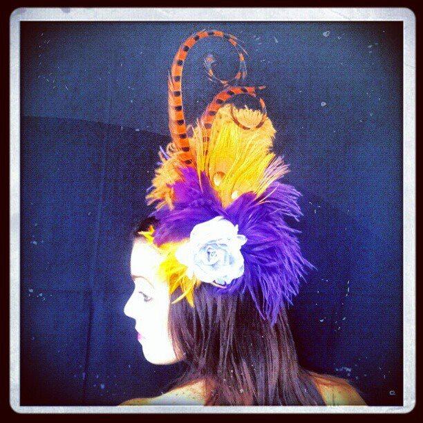 Gypsy le Soleil Divalicious Showgirl Fascinator