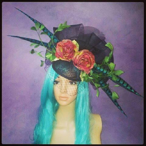 La Belle Rose Divalicious Fascinator