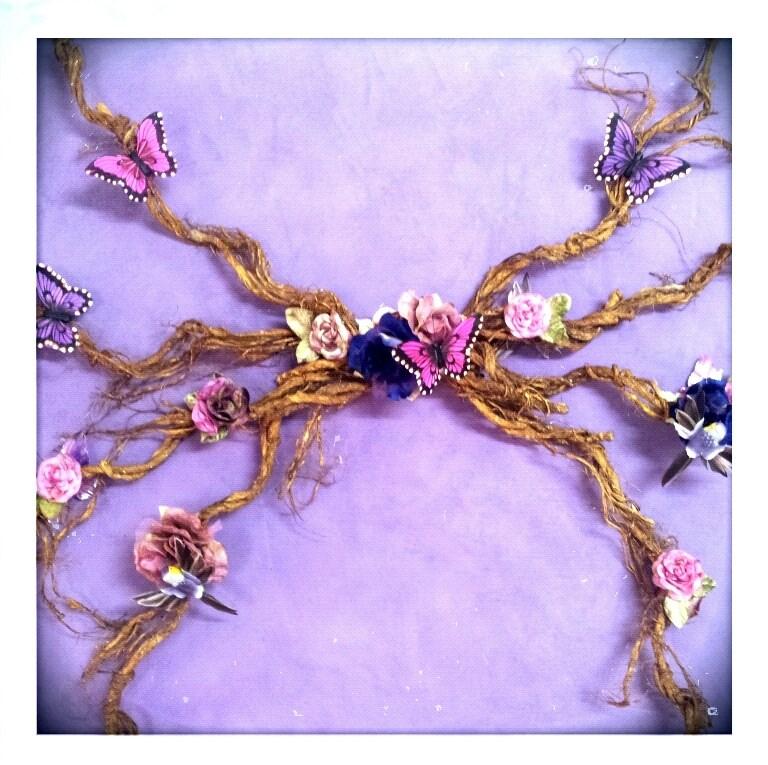 Le Boudoir de la Violette Rose Fae Divalicious Angel Wings