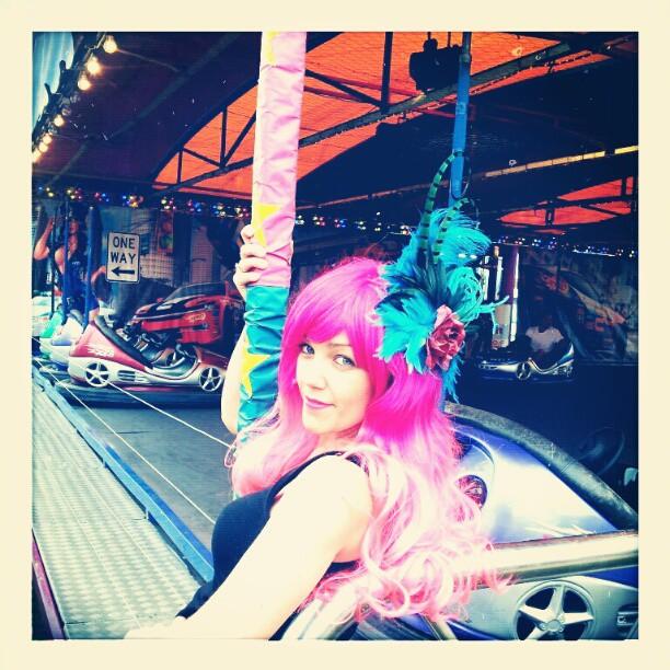Lolita Bluebird Divalicious Fascinator