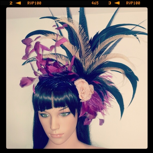Love like Autumn Divalicious Fascinator