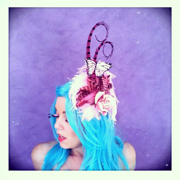 Pink Lemonade Kisses Divalicious Fascinator