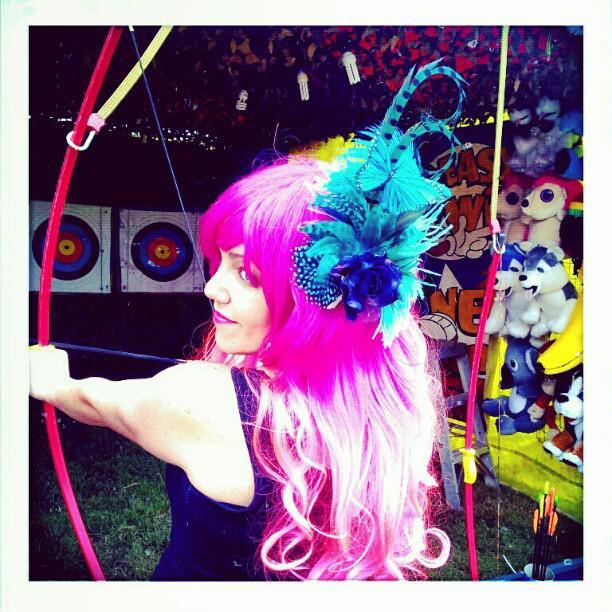 Pixie Belles Boudoir Divalicious Fascinator