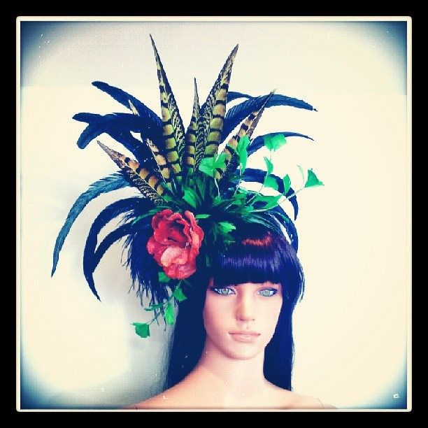 Poison Ivy Divalicious Fascinator