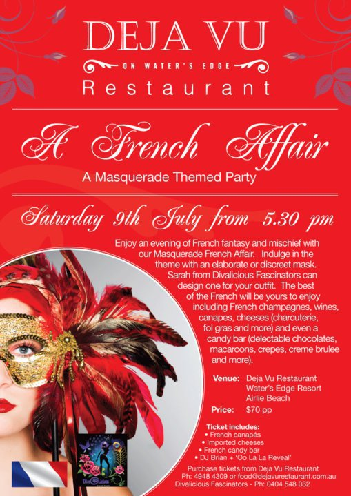 'A French Affair' Fashion Show July 2011