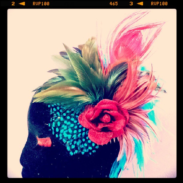 Ruby Tuesday Divalicious Fascinator