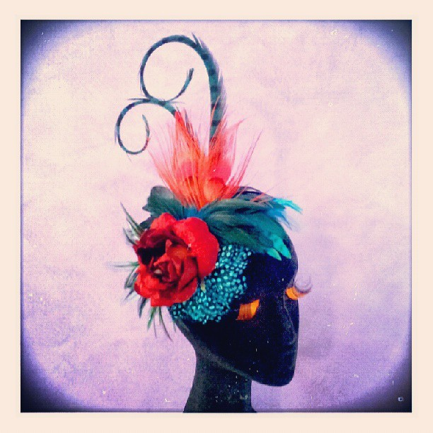 Scarlette Rose Divalicious Fascinator