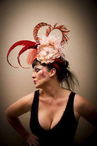 Strawberry Shortcake Divalicious Fascinator