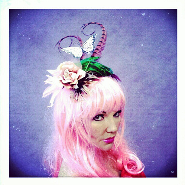 Sugar Plum Divalicious Fascinator