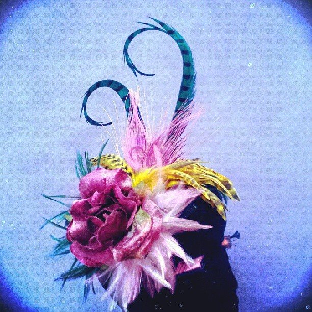 Sunshine of Your Love Divalicious Fascinator