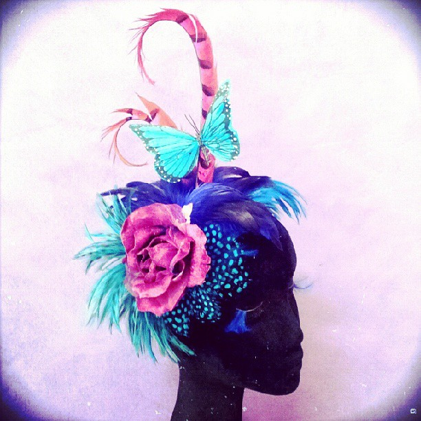 The Blue Belle Fae Divalicious Fascinator