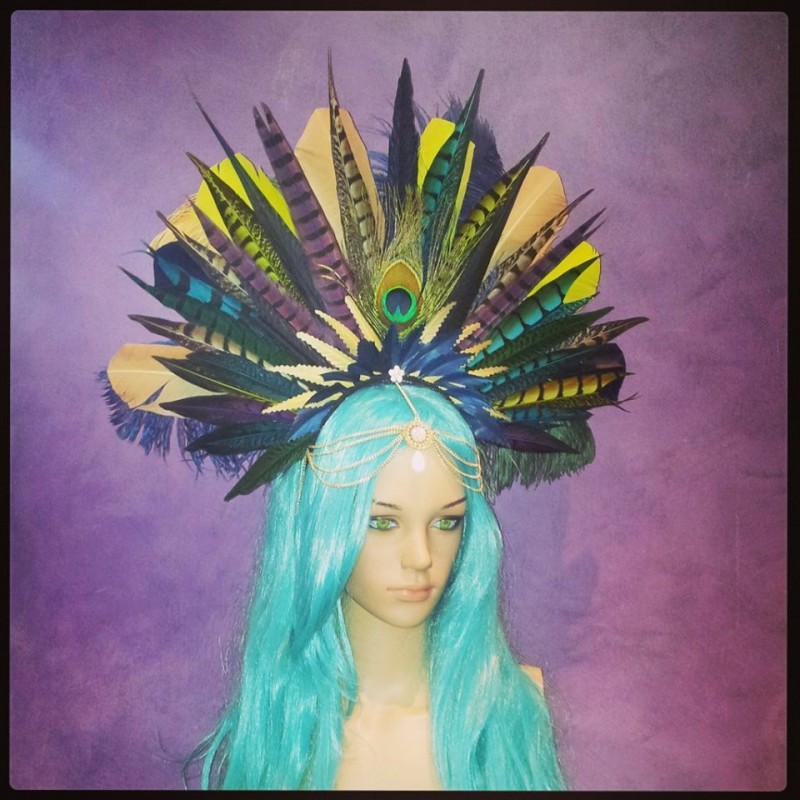The Gypsy Queen of Neverland Divalicious Headdress
