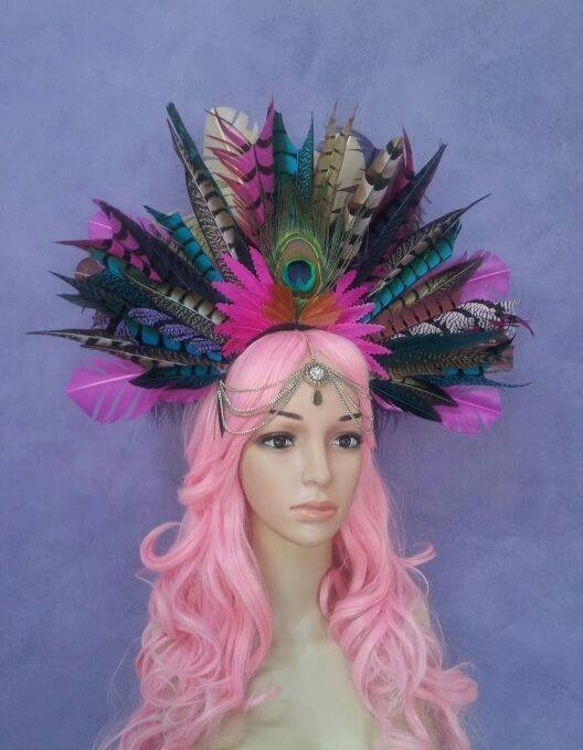 The Gypsy Queen of Paradise Divalicious Headdress