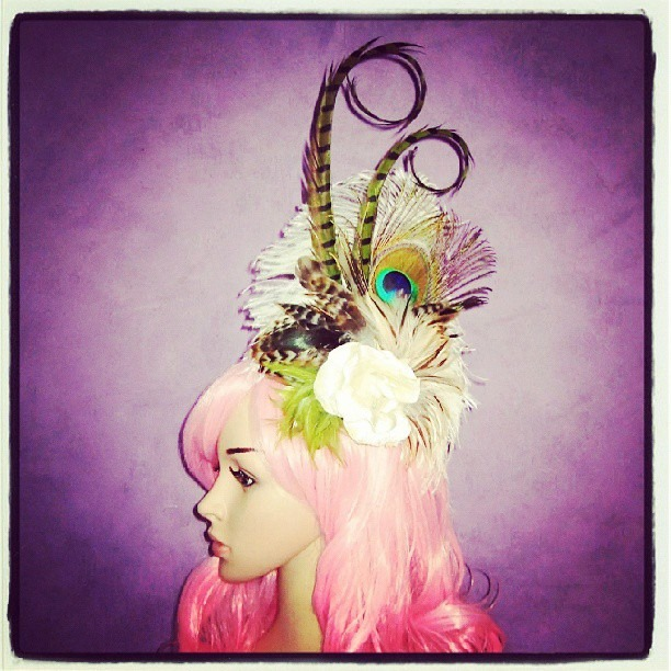 The Woodland Fairy Divalicious Fascinator