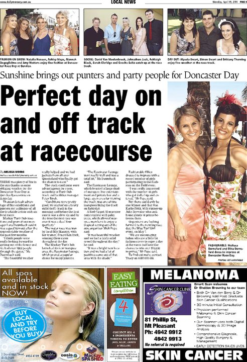 The Daily Mercury April 2011