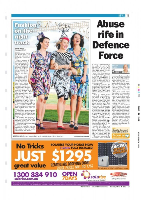 The Advertiser March 2011