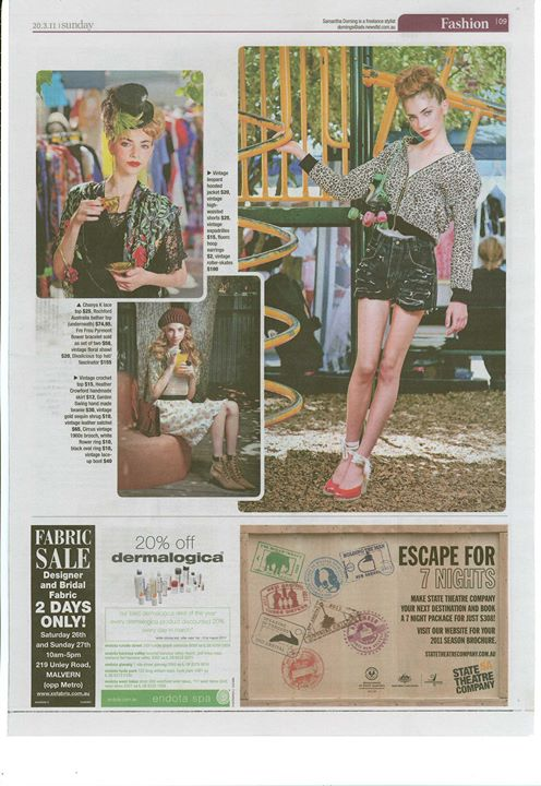 The Sunday Mail March 2011