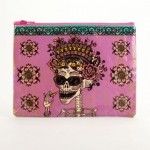 Day Of The Dead Zipper Pouch