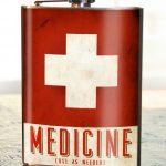 Trixie & Milo Medicine Hip Flask 2