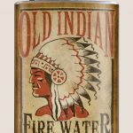 Trixie & Milo Old Indian Fire Water Hip Flask