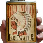 Trixie & Milo Old Indian Fire Water Hip Flask 2