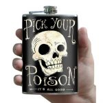 Trixie & Milo Pick Your Poison Hip Flask 2
