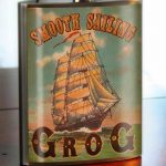 Trixie & Milo Smooth Sailing Grog Hip Flask 2