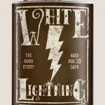 Trixie & Milo White Lightening Hip Flask